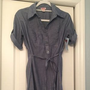 Mossimo Supply Co chambray dress, M, NWT